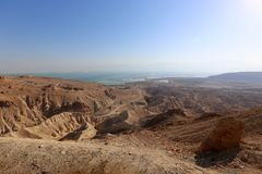 Еврейская пустыня на Ближнем Востоке стоковые изображения rf