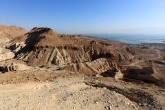 Еврейская пустыня на Ближнем Востоке стоковое изображение