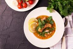 Еврейская свадьба и holyday Yemenite суп Marak Temani говядины Стоковые Изображения RF
