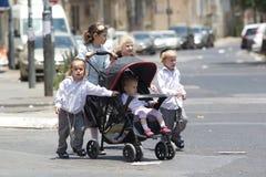 Еврейские дети стоковые фотографии rf