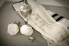 еврейские кольца Стоковые Фотографии RF