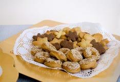 Еврейские печенья Стоковое Изображение RF