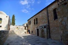 Еврейский квартал в старом городе Иерусалима Стоковая Фотография