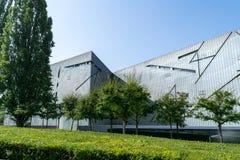 Еврейский музей Берлина, архитектурноакустического ориентира стоковые фото