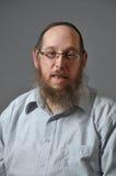 еврейский портрет человека Стоковые Фотографии RF