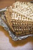 Еврейский matzot-крупный план Стоковое фото RF