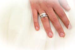 еврейское венчание кольца Стоковые Изображения