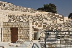 Еврейское кладбище. стоковые изображения rf