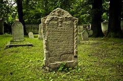 Еврейское кладбище Стоковое Фото