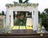 Еврейское Hupa, wedding putdoor Стоковые Фотографии RF