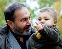 еврейство деда ребенка Стоковое Изображение RF