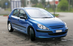 евроец автомобиля Стоковые Изображения