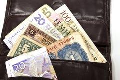 евроец валюты Стоковая Фотография RF