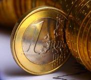 евроец валюты Стоковое Изображение RF