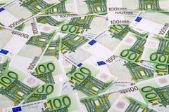 евроец евро валюты предпосылки цветастый Стоковая Фотография