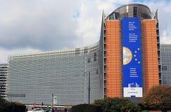 евроец комиссии здания brussels чинный Стоковые Изображения