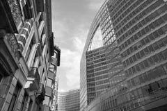 евроец комиссии здания brussels Стоковое Изображение RF