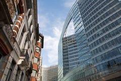 евроец комиссии здания brussels Стоковые Фото