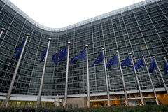 евроец комиссии bruxelles Стоковые Изображения