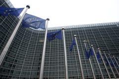 евроец комиссии bruxelles Стоковое фото RF
