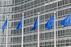 евроец flags соединение Стоковая Фотография RF