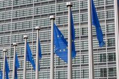 евроец flags соединение Стоковое фото RF