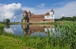 Европа, Беларусь, история: Комплекс замка Mir Стоковая Фотография