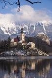 Европа, Словения, кровоточенное озеро Стоковые Фото