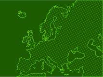 европа иллюстрация вектора