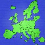 европа Стоковая Фотография RF