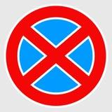 Европеец отсутствие знака автостоянки отсутствие значка автостоянки, символа бесплатная иллюстрация