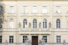 европейская белизна дома Стоковые Фотографии RF