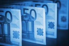 Европейская валюта евро Стоковые Изображения RF