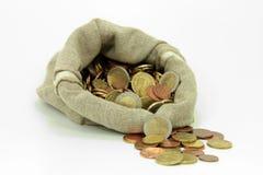 Европейская валюта Стоковое фото RF