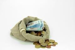 Европейская валюта Стоковая Фотография RF