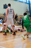 Европейская лига баскетбола молодости Стоковое Фото