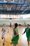 Европейская лига баскетбола молодости Стоковые Фото