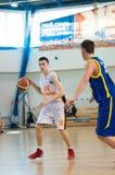 Европейская лига баскетбола молодости Стоковые Изображения