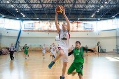 Европейская лига баскетбола молодости Стоковые Изображения RF