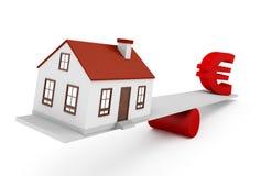 Европейская недвижимость Стоковые Изображения RF