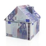 Европейская недвижимость Стоковое Изображение