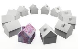 Европейская недвижимость Стоковые Фото