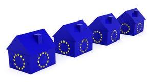 Европейская недвижимость Стоковые Изображения