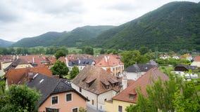 Европейская община долины сверху Стоковая Фотография