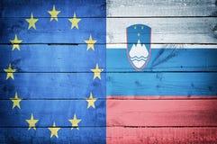 Европейская страна Словения Стоковые Фотографии RF