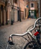 Европейская сцена велосипеда Стоковое Изображение