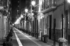 европейская узкая улица Стоковые Изображения RF