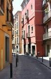 европейская улица Стоковые Фотографии RF