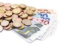 Европейские деньги Стоковая Фотография