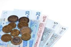 европейские деньги Стоковое Фото